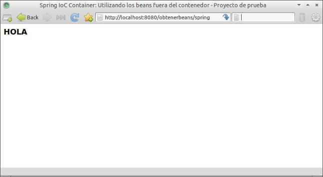proyecto en navegador