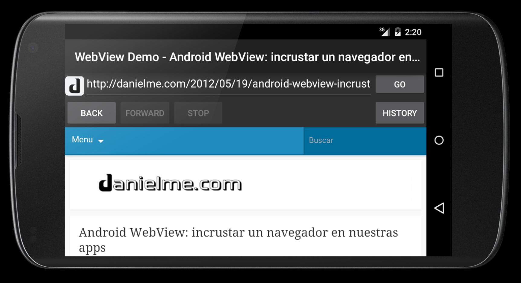 Android Webview Incrustar Un Navegador En Nuestras Apps