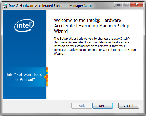 Intel Hardware Accelerated Execution