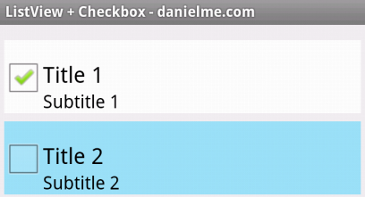 listview checkbox 2