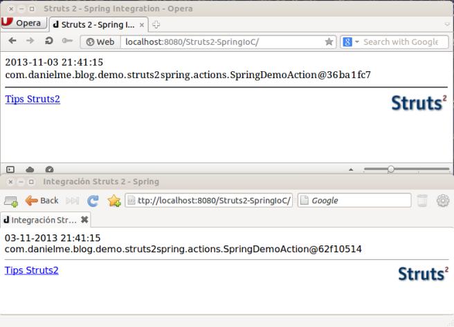 Struts 2 - Spring