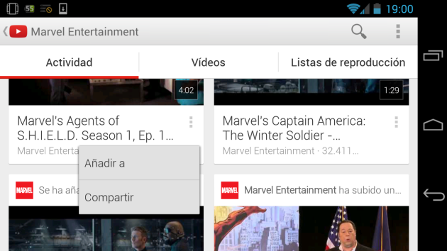 youtube-popup menu