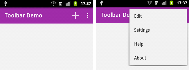 toolbar actionbutton