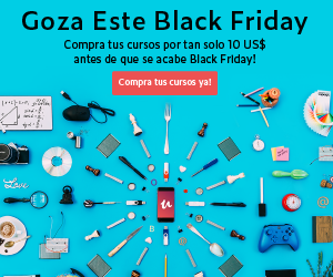 Cursos de desarrollo - Black Friday