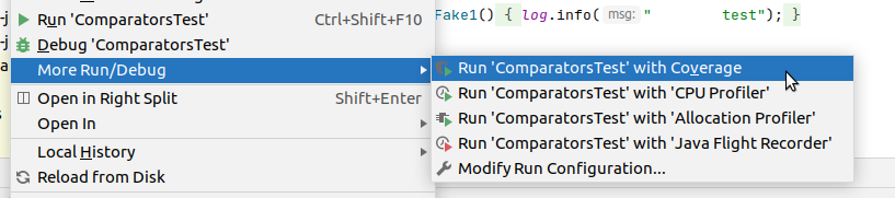 IntelliJ JUnit 5 code coverage