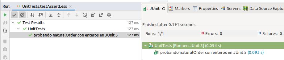 test resultados IDE