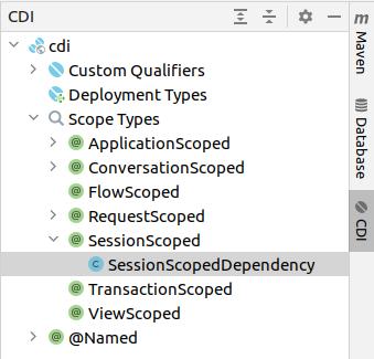 IntelliJ CDI tool