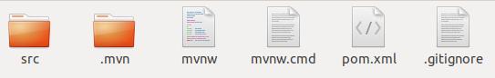 maven root folder